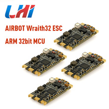 BLHeli_32 ESC for Wraith32 -32bit Quadcopter original airbot 35A Support DSHOT1200 Built in Current Sensor for FPV RC helicopt f4 flight controller osd integrated pdb 4 pcsblheli 32 bit 35a 2 5 s esc built in led for fpv quadcopter rc