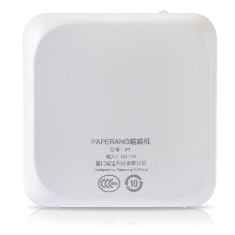 Portable Bluetooth 4.0 Printer Photo Printer Phone Wireless Connection Printer 5