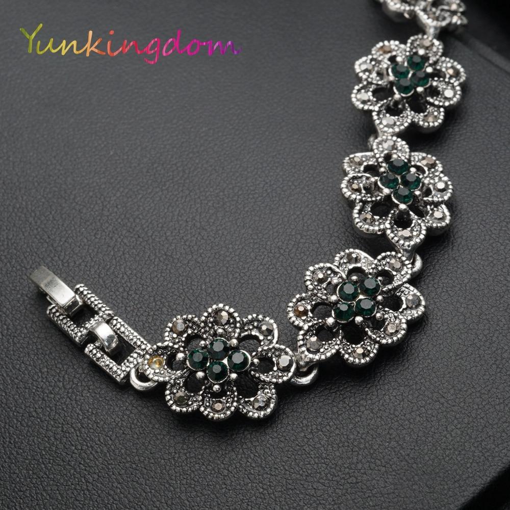Vintage Fashion Bangle Gelang Warna Emas Gelang Womens - Perhiasan fashion - Foto 3