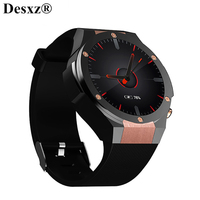 Desxz Смарт часы Носимых устройств 1,39 дюймов SmartWatch телефон 3g Wi Fi gps сердечный ритм WCDMA мужчин для ios и android Xiaomi