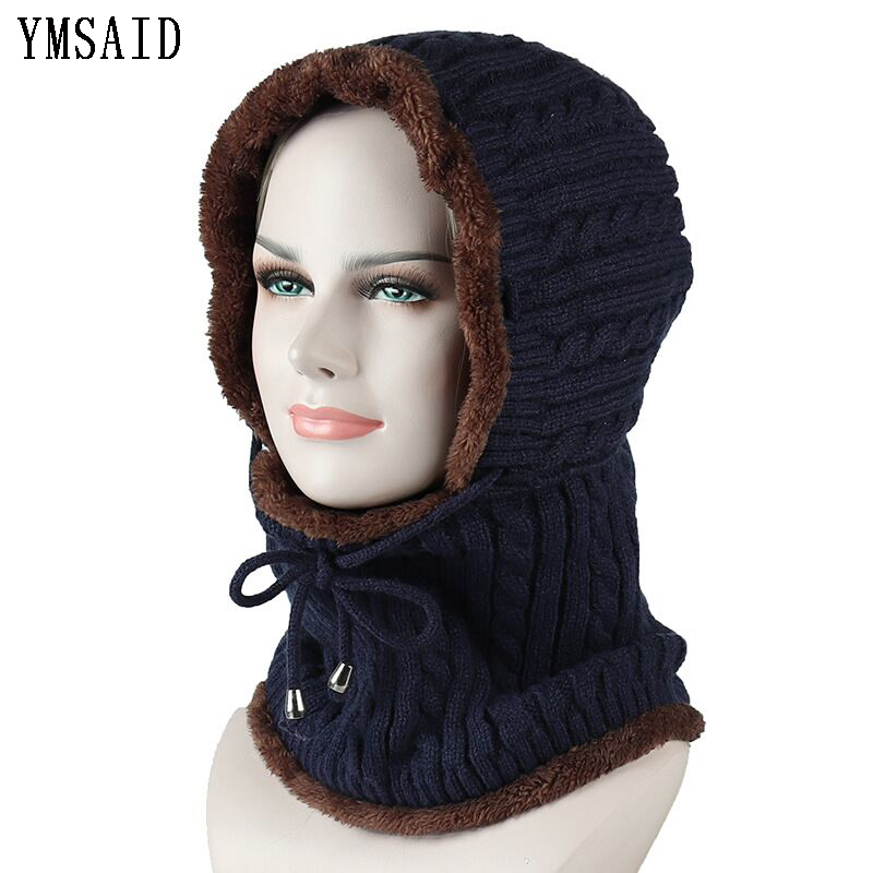 Winter Ski Knitted Hat   Beanie   Men Scarf   Skullies     Beanies   Winter Hats For Women Men Caps Gorras Bonnet Mask Brand Hats