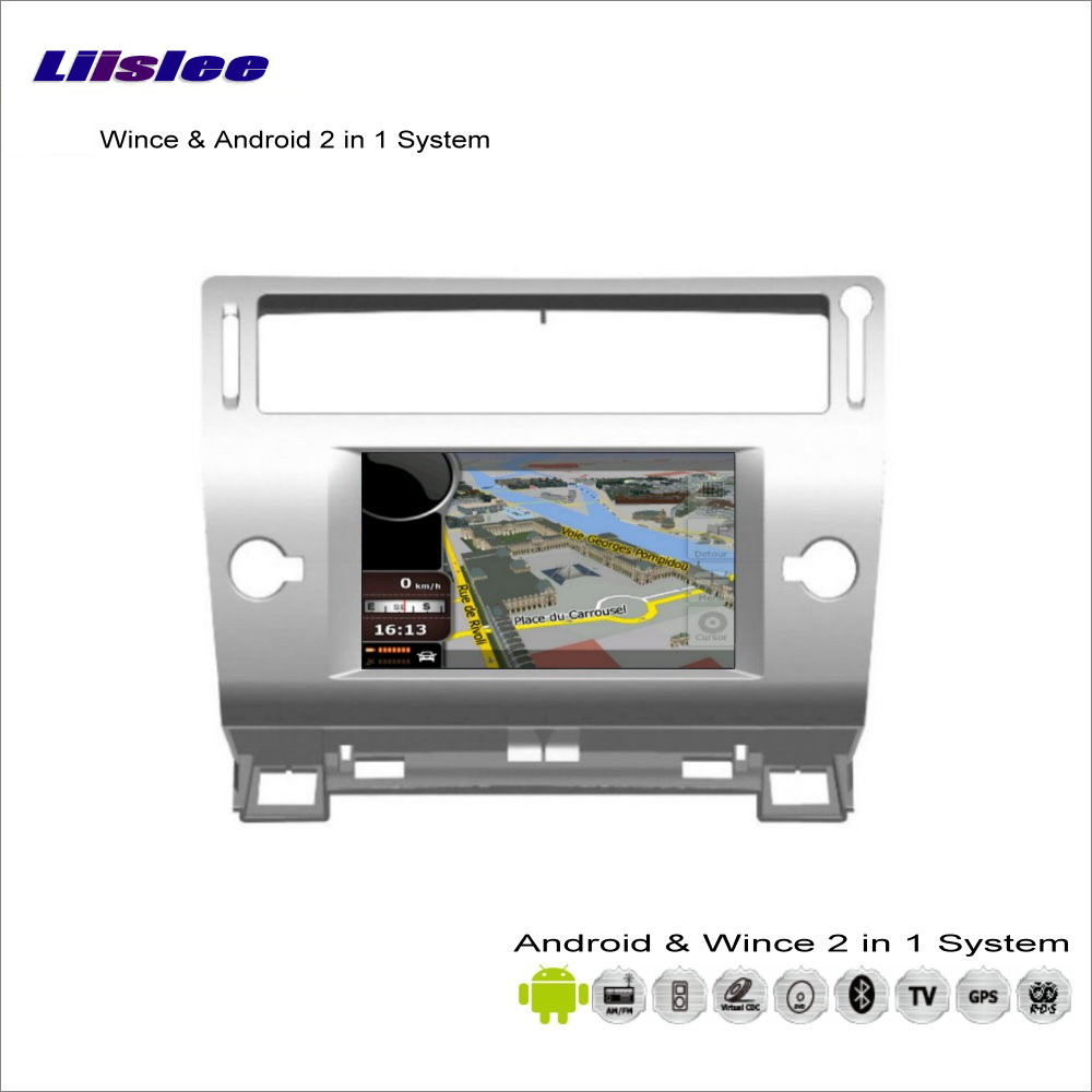 Liislee Car Android Multimedia For Citroen C4 Pallas 2004~2010 Radio DVD Player GPS Nav Map Navigation Audio Video Stereo System