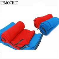 Spring Outdoor Travel Summer Ultralight Envelope Style Sleeping Bag Camping Portable Emergency Compact Fleece Liner Sleep