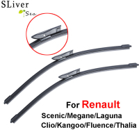Windshield Wiper Blade For Renault Scenic Laguna Megane Espace Pair 24 29 Soft Rubber Windscreen Brush