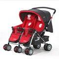 Baobaohao carrinho de Bebê, 703R gêmeos carrinho de criança, duplo carrinho de criança, super suspensão portabilidade de gêmeos carrinho de criança, freeshipping