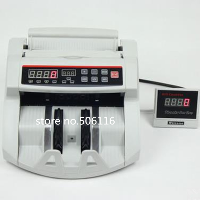 2108 UV MG AC110V 220V Bill Counter Money Counting Cash Machine Counterfeit Detector  machine