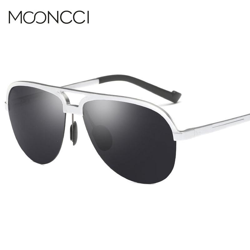 MOONCCI Retro Solglasögon Män Polariserad Aluminium Cool Mäns - Kläder tillbehör - Foto 3