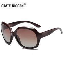 88270b4ca1 STATE NISSEN Brand Design HD Polarized Sunglasses Women Oversized Sun  Glasses Female Vintage Driving Eyewear UV400