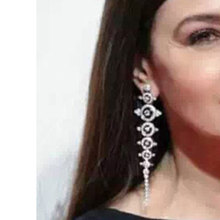 GODKI Brand New Luxury Full Mirco Pave Cubic Zirconia Long Leaves Dangle Wedding Earring For Women