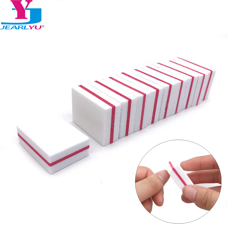 20 Pcs Buffing Sanding Files Block Pedicure Manicure Care Nail Art Buffer Polish White Nail File Nail Art Tips Manicure Pedicure
