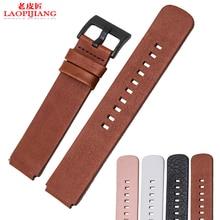 Laopijiang alternativa HUAWEI reloj elegante reloj con italia suave banda de reloj del cuero