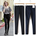 Fashion Skinny Jeans female Black Pencil Elastic Slim Jeans Denim Women High Waist Jeans Femme  Push Size Jeans For Women 2017
