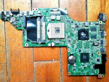 603643-001 for HP DV6T DV6-3000 laptop motherboard HM55 DDR3 DA0LX6MB6F2 Free Shipping 100% test ok