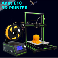 Anet E10 3D Printer Aluminum Frame Large Print Size 3D Printer DIY Kit 12864 LCD Screen