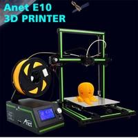 Anet E10 3D Printer Aluminum Frame Large Print Size 3D Printer DIY Kit 12864 LCD Screen