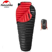Naturehike Ultralight Warm Sleeping Bag White Goose Down Adults Backpacking Camping Mummy Sleep Bags