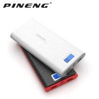 PINENG PN-920 20000mAh banco de energía externa bateria cargador portátil para el banco de energía del teléfono