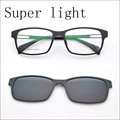 Ultra-Leve Óculos Full Frame frame Frame Óculos Ímã Clipe Miopia Óculos Polarizados óculos de Sol Ímã