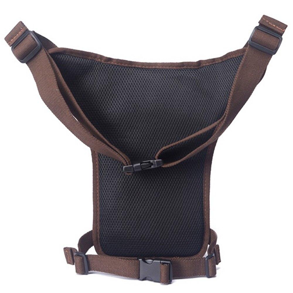 Mænd vandtæt nylon / lærred talje pakke taske crossbody skulder - Bæltetasker - Foto 6