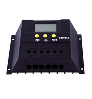 Reliable 50A 48V auto switch LCD Display PWM solar battery charge controller