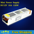 Mini size LED adapter DC 12V 10A 120W Switch Power Supply for LED Strip Light Switching AC 180-240V
