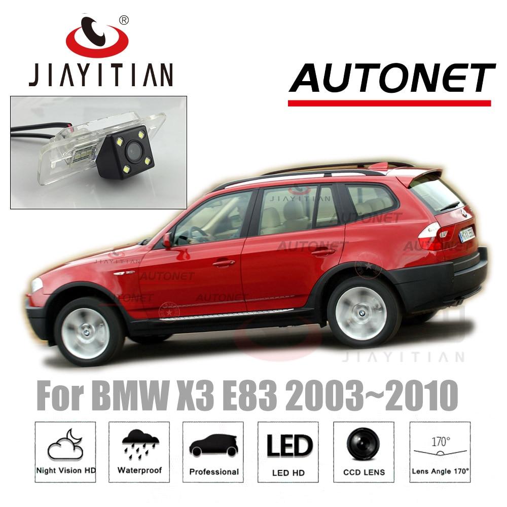 JiaYiTian rear camera For BMW X3 E83 2003~2010 MK1 backup Camera/CCD Night Vision/ Reverse Camera/License Plate camera backup цена