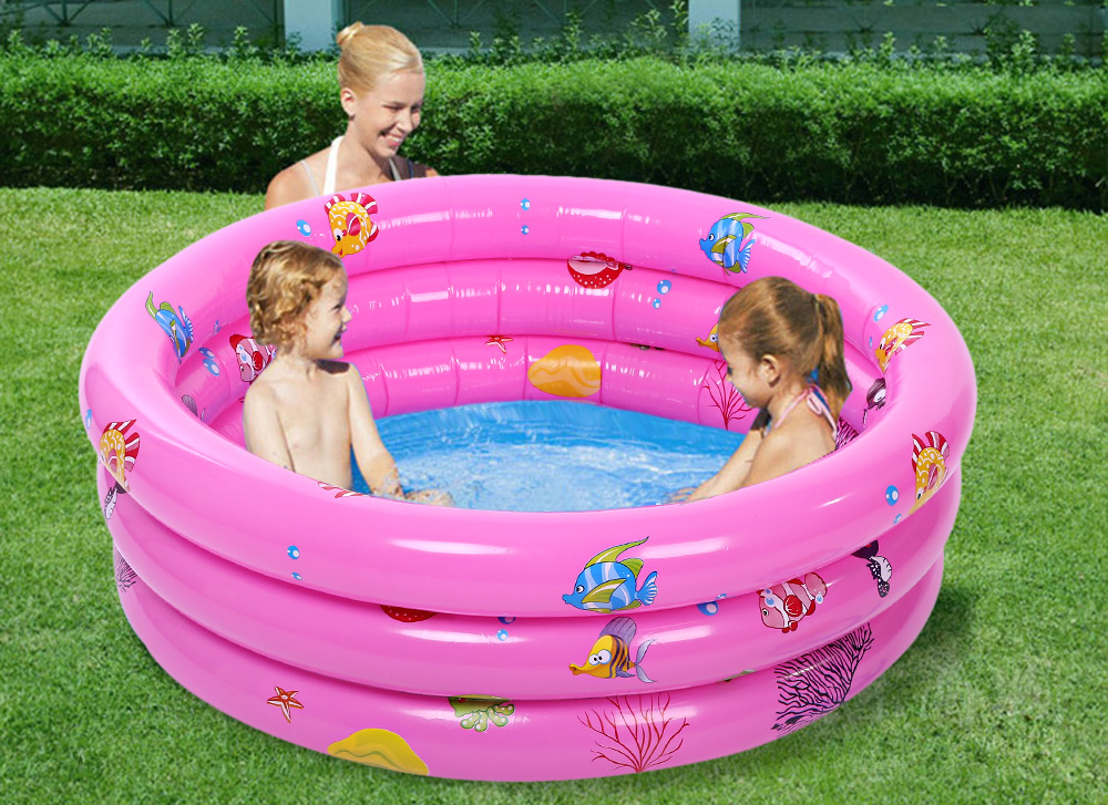 66498de8e8 Trinuclear Inflatable Pool Baby Swimming Pool Piscina Inflavel For Newborn  Portable Outdoor Children Basin Bathtub For Infant-in Pool & Accessories  from ...