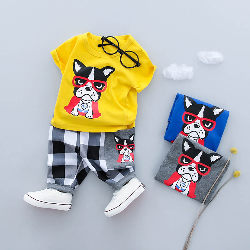 2018 New Summer baby sets boys clothes cotton o-neck shorts with character print children toolders clothing set suit 18016-18025 ноутбук hp pavilion 15 au127ur z6k53ea z6k53ea