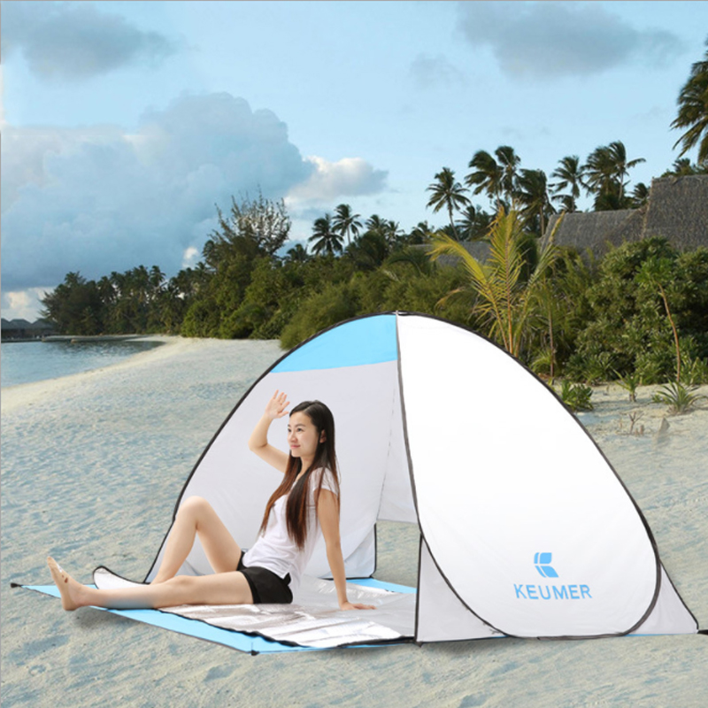 STAR HOME Beach Tent Booth Pop up Tent 2 People Pavilion Lightweight