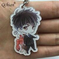 Hot Anime One Punch Man Keychian for Men Saitama Genos tatsumaki cute Key Chains Ring Holder 1
