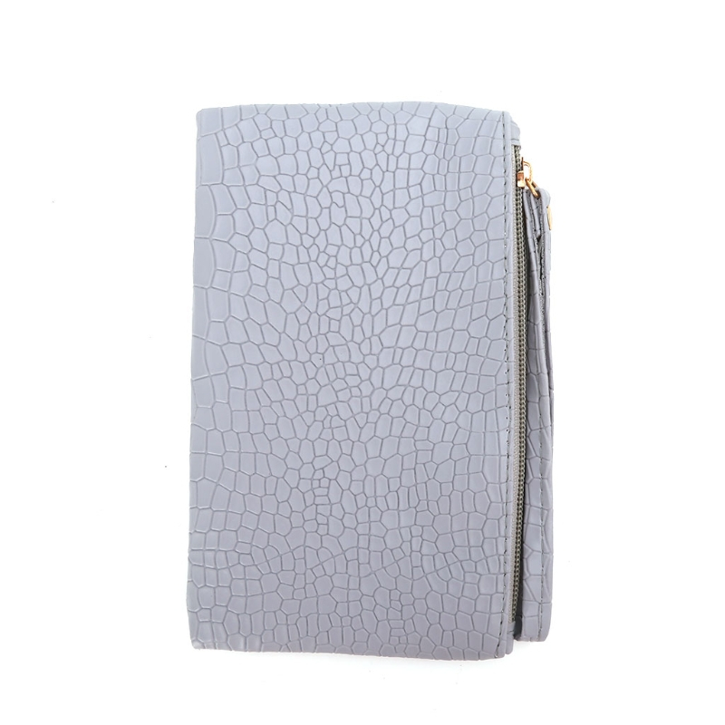 2017 Fashion Women Girl Zip Wallet Phone Bags Coin Card Holder Purse PU Leather Small Handbag Mini Solid Lady Elegant New Bags