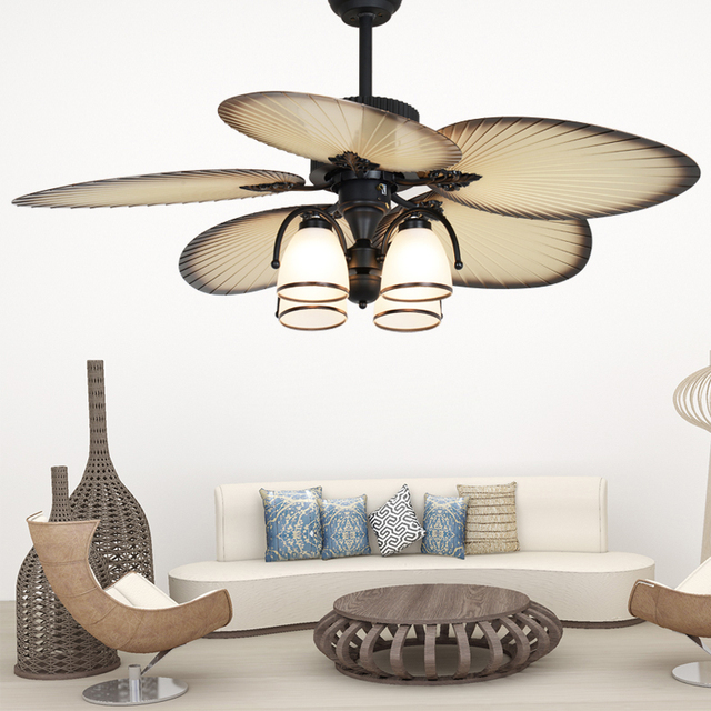 Remote Control Modern Stealth Fan Modern Ceiling Fans Lighting