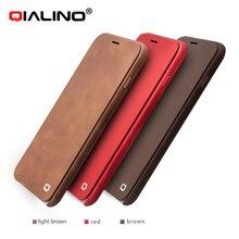 Qialino натуральная кожа Fundas чехол для iPhone 6 6S + магнит откидная крышка для iPhone 6/6S плюс 4.7 дюйма и 5.5 дюйма