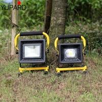 Camping Lantern Flashlights Collapsible Solar Tent Light Gear Equipment 50W COB LED Outdoor waterproof Work emergency light