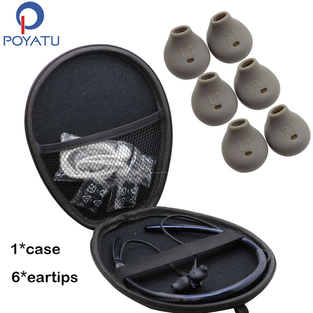 f720f8546a5 POYATU Tips For Samsung Level U Bluetooth Wireless In-Ear Headphones Carry  Bag Pouch Case