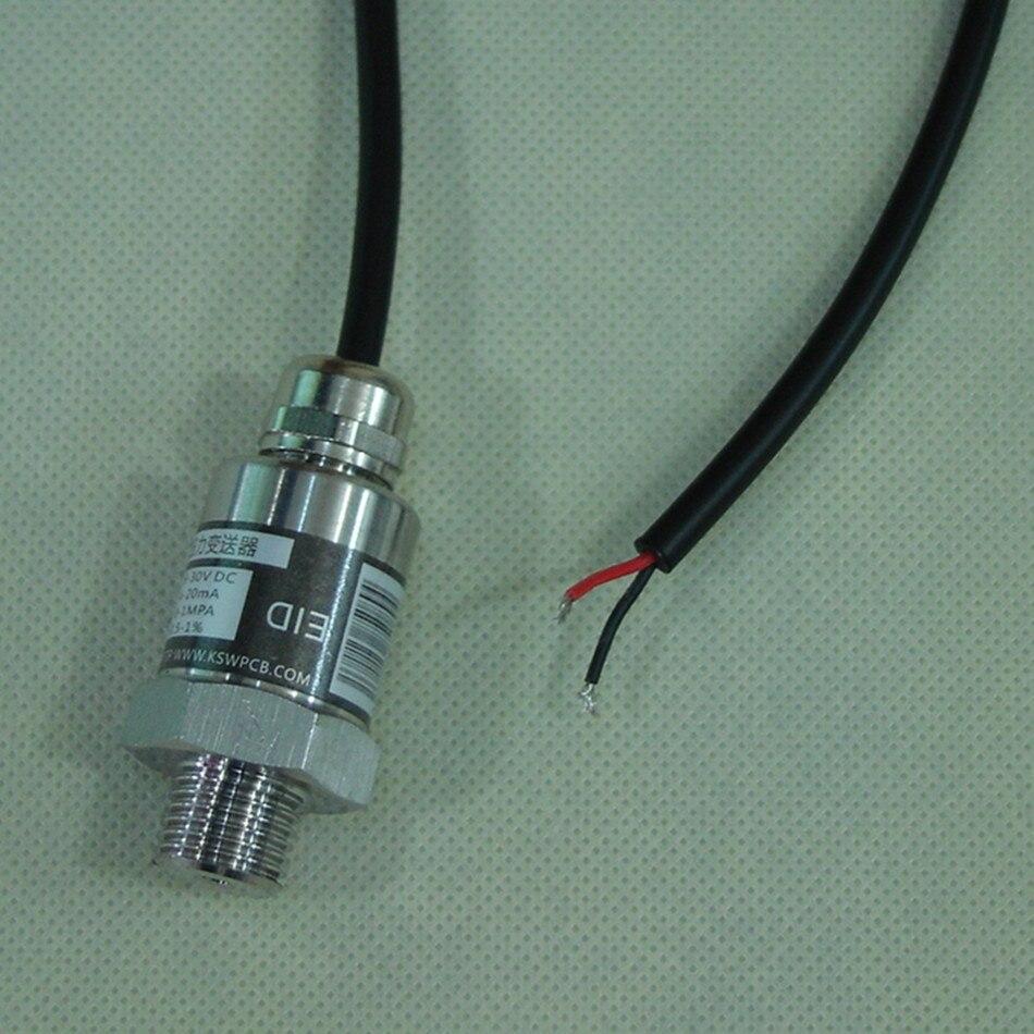 Pressure Sensor Frequency Conversion Pump Pressure Sensor Two wire Waterproof Lead Range 0 10Bar