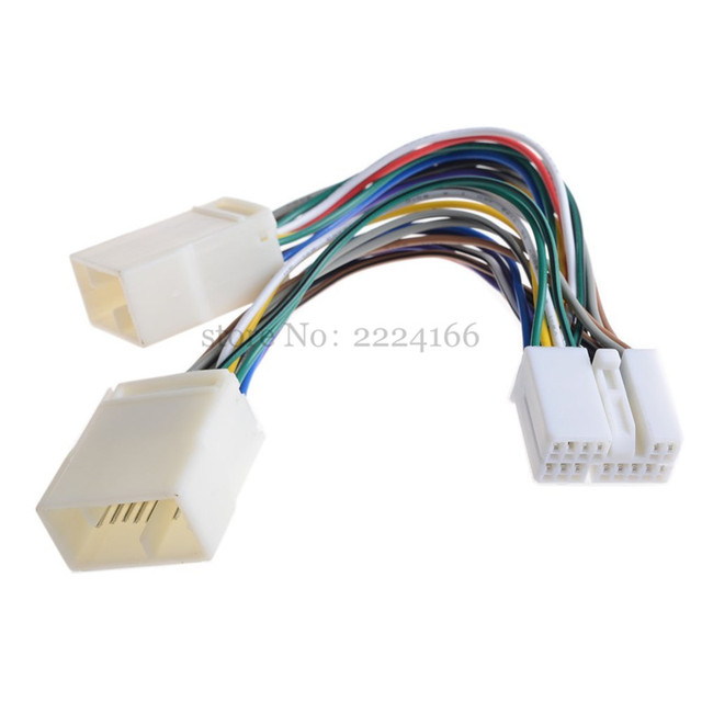 new y wire harness aux splitter cable cd changer adapter for honda rh aliexpress com honda wire harness connectors honda wire harness connectors