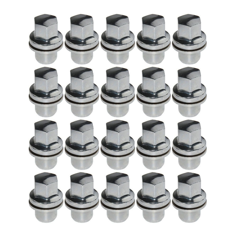 LAND ROVER LR3 2005-2009 SET OF 5 WHEEL NUT WITH WASHER RRD500510