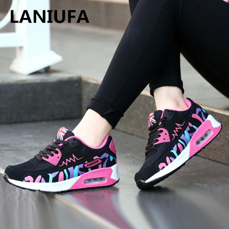 New Arrival women shoes flats Running women Shoes Breathable Mesh Non-slip Comfortable Lace Up casual walking shoes Women #814New Arrival women shoes flats Running women Shoes Breathable Mesh Non-slip Comfortable Lace Up casual walking shoes Women #814