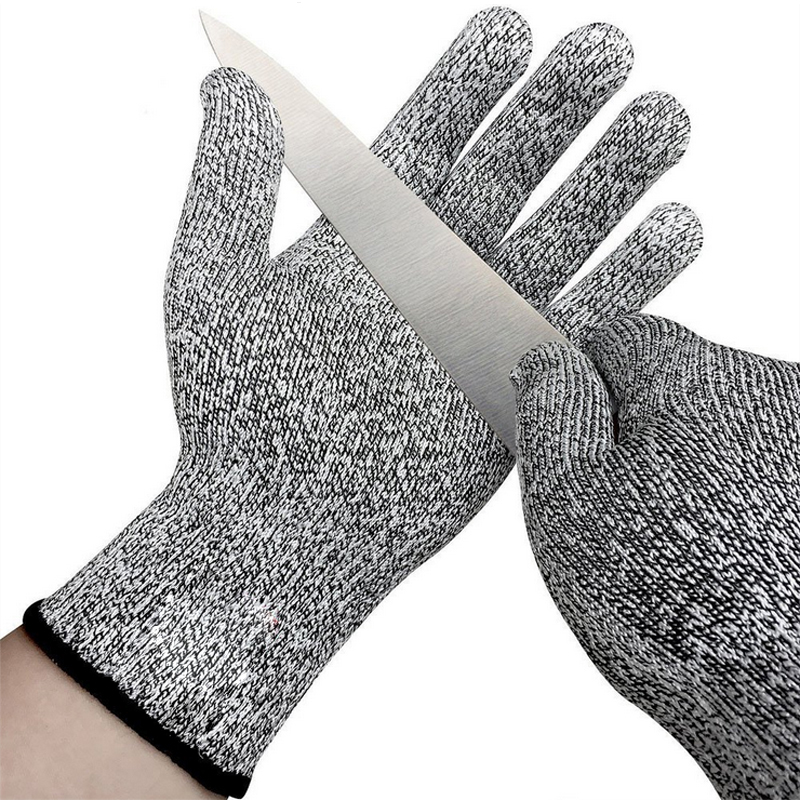 Anti-cut Hiking Gloves Safety Cut Proof Stab Resistant Stainless Steel Wire Metal Cut-resistant Hiking Clothings