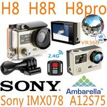 H8R H8 H8se V8S ультра 4 К WI-FI действие Камера Дистанционное управление VR360 Водонепроницаемый Pro Full HD VR Спорт DVR Спорта Go Cam