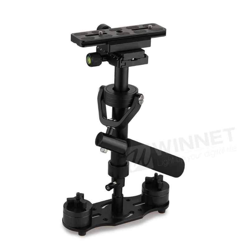 S40 Handheld Video DV Camera DSLR Camcorder Stabilizer Steadicam s 60handheld mini handheld stabilizer for camcorder dv video camera dslr black blue