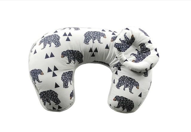 Bebê Travesseiro De Enfermagem Ins Hot 100% Algodão U-Forma Multi-funcional Travesseiro De Enfermagem Macio E Confortável Infantil Amamentação Travesseiro