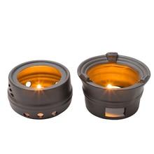 Creative Ceramic Retro Handmade Candle Holder Tea Stove Furnace Warm Ware Japan Style Tool Home Decor