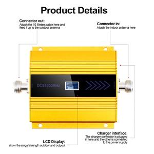 Image 2 - Yeni PCB 4g Lte 1800 MHZ güçlendirici LCD GSM Amplificador GSM 2g 4g güçlendirici DCS 1800 güçlendirici cep telefonu sinyal amplifikatörü tekrarlayıcı