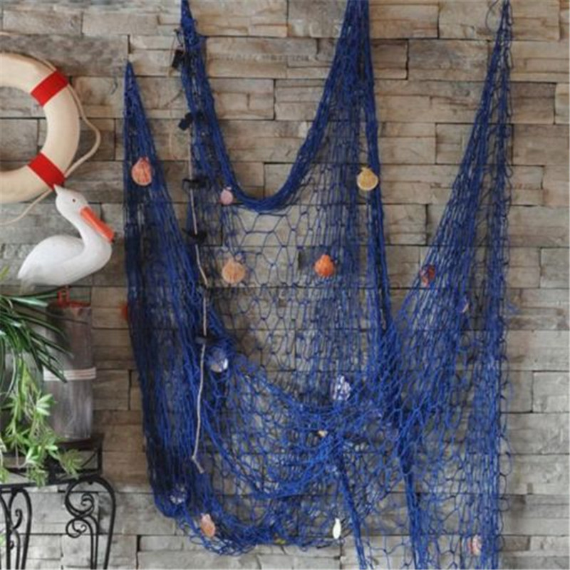 High Quality Home Decor Home Decoration Nautical Decorative Fishing Net Seaside Beach  Shell Party Door Wall Decoration 2M X 1M 2018 In Wall Stickers From Home U0026  Garden ...