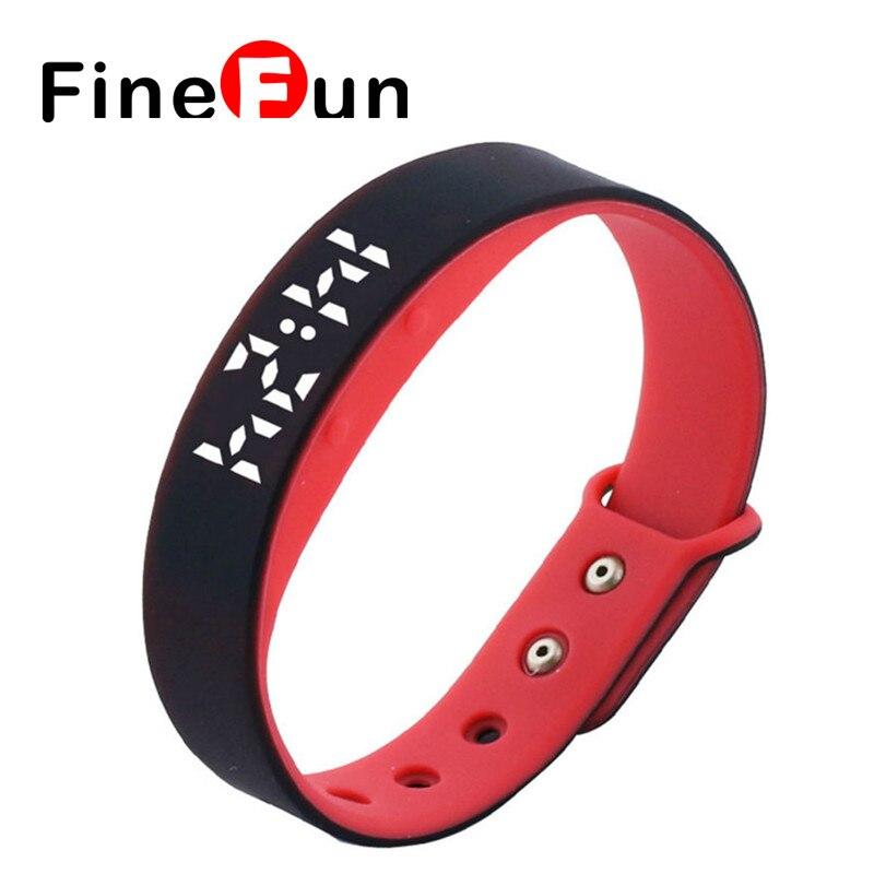 FineFun Smart Wristband W5 Smart Bracelet Pedometer Sleep Tracker Thermometer Smart band Fitness Tracker Smart watch