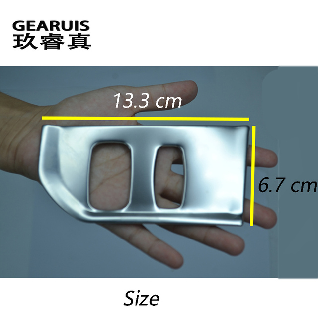 Car-styling Interior car keyhole decorative frame cover trim Accessories stainless steel 3D sticker For Volvo XC60 S60 V60