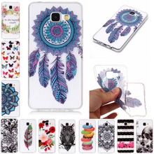 For Samsung Galaxy A3 2016 A310 Case Soft Silicone TPU Cover for Samsung A3 2016 Transparent Painted Pattern Case for A310 4.7'' цена