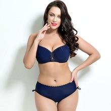 Plus Size Push-Up Bikini Set